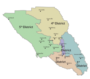 County District Map